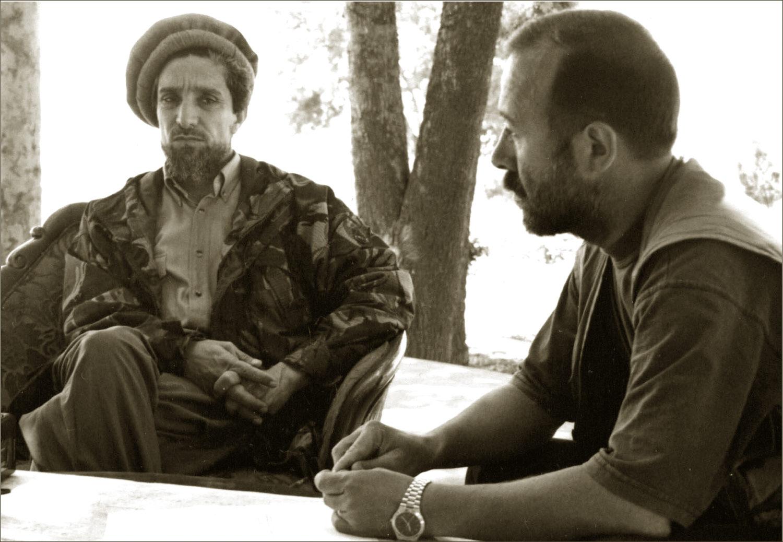 Ахмадшах Масуд и Александр Князев
