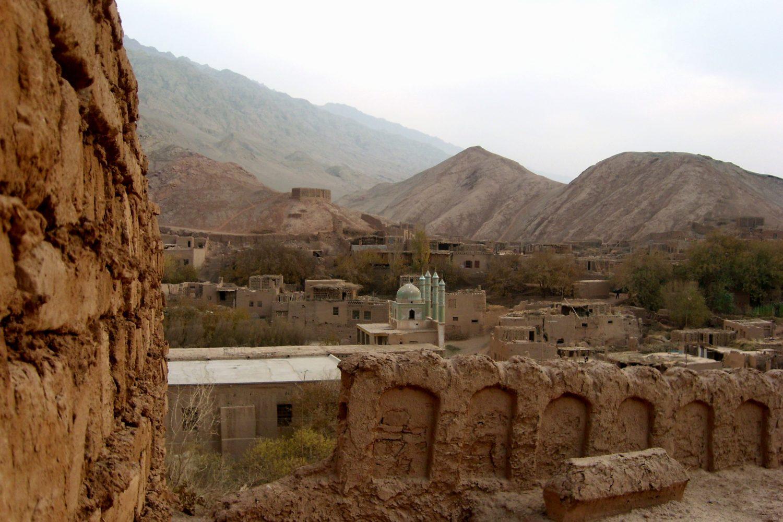 Уйгурский городок в Синьцзяне. Фото А. Князева, 2008 г.