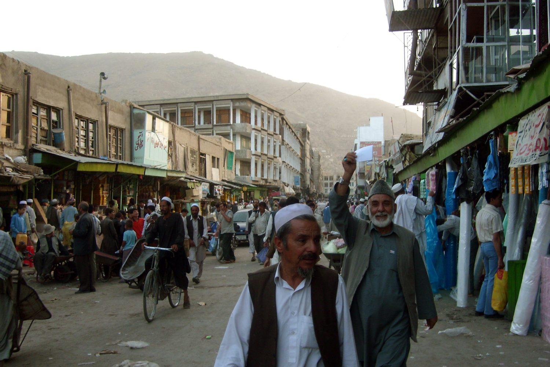 Кабул, Майванд. Фото А. Князева, 2007 г.