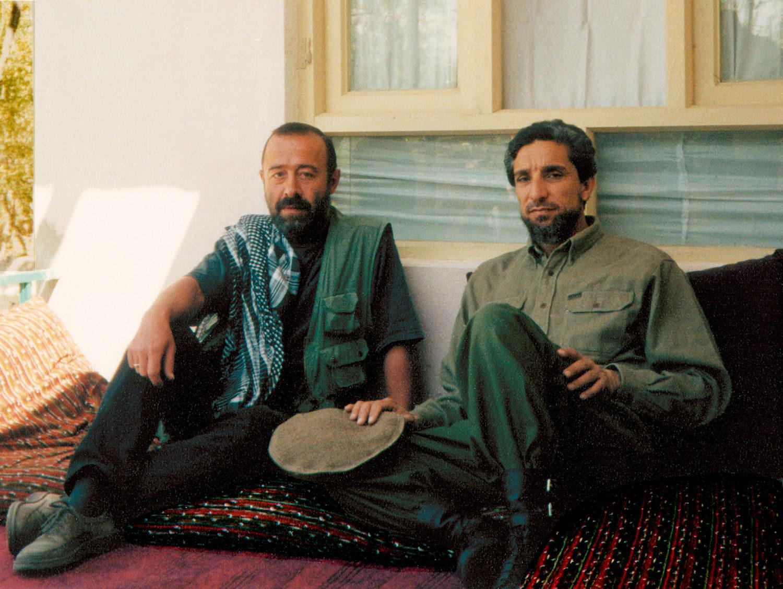 Александр Князев и Ахмадшах Масуд, фото автора